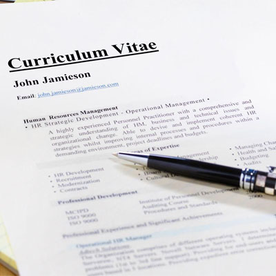 CV for Teaching